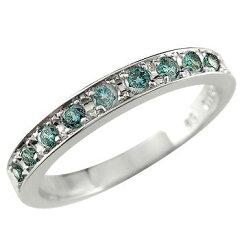大人のリッチ感を漂わせるブルーダイヤモンドリング  指輪 プラチナリング ブルーダイヤモンド...