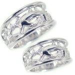 シルバー/ペアリング:結婚指輪:マリッジリング:ペア2本セット/SV925/ドルフィンリング【smtb-m】