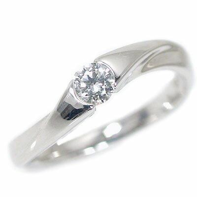 ブライダルジュエリー・アクセサリー, 婚約指輪・エンゲージリング  0.2ct F VS1 VeryGood Pt900