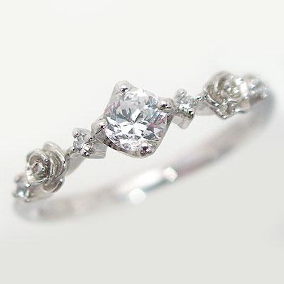 ブライダルジュエリー・アクセサリー, 婚約指輪・エンゲージリング  0.25ct F SI1 VeryGood 900 PT900