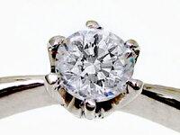 婚約指輪:ダイヤ0.3ct:F-SI1-VeryGood【ベリーグッド】鑑定書付:ダイヤモンドリング:プラチナ900:エンゲージリング/Pt900指輪