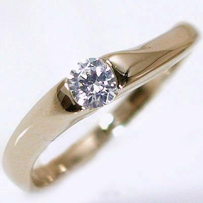 婚約指輪 エンゲージリング ダイヤモンド 0.2ct G SI2 Good 鑑定書付 ホワイトゴールドk18 ダイヤリング K18wg