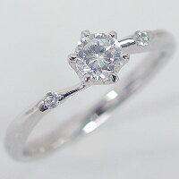 婚約指輪:エンゲージリング:ダイヤモンド:0.3ct/D-VS1-3EX,H&C:鑑定書付:指輪:プラチナ900/脇ダイヤ0.03ct:PT900ダイヤ指輪【smtb-m】