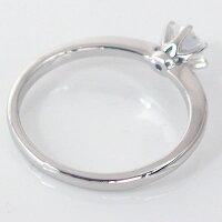 婚約指輪:プラチナ/プロポーズ高品質ダイヤモンド妻彼女プロポーズプレゼントエンゲージリング:ダイヤモンド0.4ct/F-VVS1-Excellent:鑑定書付/6本爪:立爪:ダイヤリングPt900ブライダル