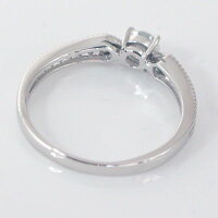 婚約指輪:エンゲージリング:ダイヤモンド:0.3ct/E-VVS2-EX:鑑定書付:指輪:プラチナ900:脇ダイヤ0.14ct/PT900ダイヤ指輪【smtb-m】