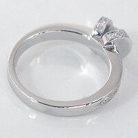 婚約指輪:エンゲージリング:ダイヤモンド:0.3ct/E-VVS2-EX:鑑定書付:指輪:プラチナ900:脇ダイヤ0.34ct/PT900ダイヤ指輪【smtb-m】