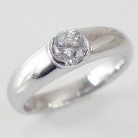 婚約指輪:プラチナ/エンゲージリング:ダイヤモンド0.5ct/D-VS1-EX:鑑定書付/ダイヤリングPt900【smtb-m】