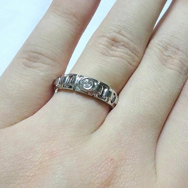 一粒 ダイヤモンド リング プラチナ900 レディース メンズ 指輪 Pt900