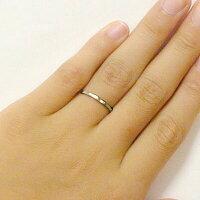 結婚指輪:ペアリング:マリッジリング:イエローゴールド/ホワイトゴールドk18:ペア2本セット/K18指輪