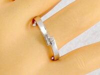 結婚指輪:ペアリング:マリッジリング:ホワイトゴールドk10:ペア2本セット:ダイヤモンド/K10wg指輪ダイヤ0.01ct