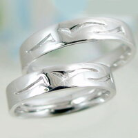 結婚指輪:マリッジリング:ペアリング:ホワイトゴールドk10:ダイヤモンド:指輪:ペア2本セット/K10wgダイヤ0.01ct