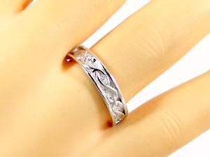 結婚指輪 ペアリング プラチナ マリッジリング ペア2本セット ダイヤ 0.01ct Pt900