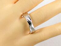 ペアリング:K18:ホワイトゴールド:ダイヤモンド:指輪:マリッジリング:結婚指輪:ペア2本セット/K18wgダイヤ0.02ct【smtb-m】