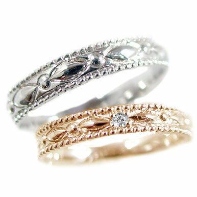 ブライダルジュエリー・アクセサリー, 結婚指輪・マリッジリング  k10 2 K10pg K10wg 0.01ct