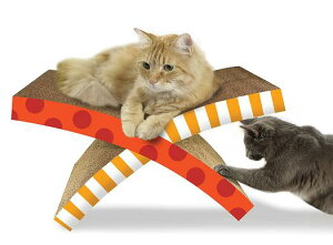 DAD-WAY Petstages(ダッドウェイ ペットステージ) ハンモック・スクラッチャー (猫用爪と...