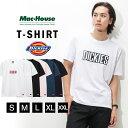 あす楽 半袖Tシャツ クルーネック プリントTシャツ ブランドロゴ シンプル メンズ メンズファッション Tシャツ・カットソー トップス おしゃれ 人気 カジュアル アメカジ ストリート Dickies ディッキーズ ボックスプリントTシャツ 9274-0735 夏服 夏物