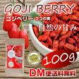 【DM便送料無料】ゴジベリー クコの実 100g ドライフルーツ スーパーフード 食品 大容量 お得