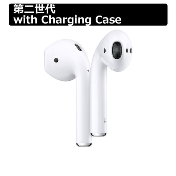 オーディオ, ヘッドホン・イヤホン Apple AirPods with Charging Case Bluetooth RCP