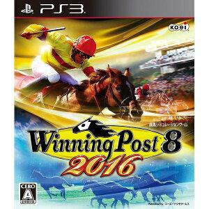 [100円便OK]【新品】【PS3】Winning Post 8 2016【RCP】