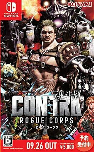 Nintendo Switch, ソフト OKNSCONTRA ROGUE CORPS ( )RCP