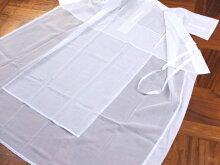 「made in Japan!」街着屋スリップ襦袢+替え袖セット(M/L)立体縫製衿 うそつきスリップ 居敷当て付き 絽 東レシルジェリー 綿 さらし 蜂巣織 うそつきスリップ 付け袖 立体縫製衿 バイアス衿 衣紋抜き付き