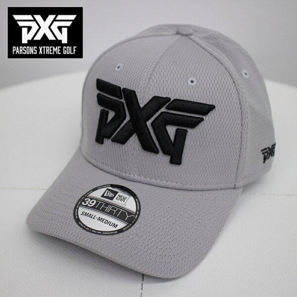 PXGGOLFNEWERAゴルフキャップグレーSからMサイズフレックスフィット帽子パーソンズエクストリームゴルフピーエックスジー