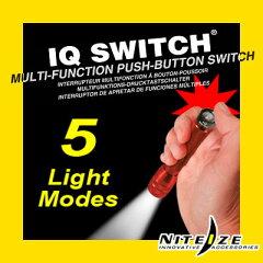 NITE-IZE(ナイタイズ) IQ Switch mini MAG AAアイキュースイッチ ミニマグAA用[マグライトオプ...