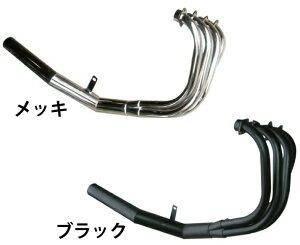 CB400SFV-TECREVO(NC42)用ショート管/マフラーメッキ集合管/直管/ストレート/ワンピース/HYPERV-TEC