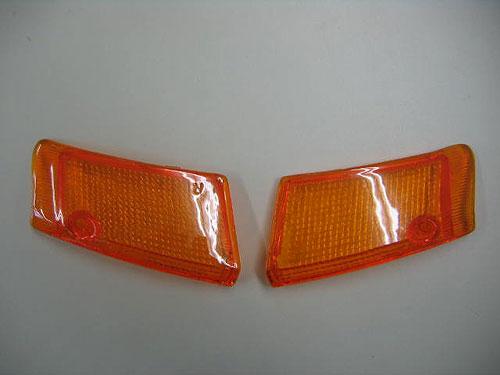 상품 신고 후에 하시면!! 세피아 50 (CA1EA/CA1EB) 순정 타입 깜박거리는 렌즈 좌측 (1 매) 오렌지