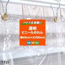 「既製サイズ」ビニールのれん 透明 丈夫なPVCアキレスビニールカーテン〈0.3mm厚〉【TT31】お部屋の間仕切に! 冷暖房効果UP! 節電・防塵・防虫対策に! 幅45cm×丈250cm《即日出荷》[ビニールシート 暖簾 のれん][サイズオーダー]