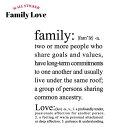 [在庫処分] 《即納可》 ウォールステッカー ウォールシール 壁デコシール 英語 Family Love/ miniシリーズ/ [転写式/貼ってはがせる/簡単/賃貸住宅/ポイント/北欧/カンタン貼付け/おしゃれ/シール/壁紙]