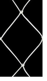 [サイズオーダー]転落防止ネット網【NET02】安全ネット[280T/162本100mm目]/ホワイト[幅30〜100cm丈30〜100cm]《約10日後出荷》[落下防止網落下対策建設現場工事現場足場螺旋階段吹き抜け安全用品]