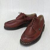 Paraboot パラブーツ CHAMBORD シャンボード 710708 メンズ Uチップ レザー シューズ 本革 靴 紳士靴 フランス製 /MARRON マロン サイズ:6/6.5/7/7.5/8/8.5/9