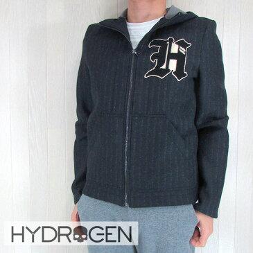 HYDROGEN ハイドロゲン パーカー トレーナー ジップアップパーカー スウェット メンズ ブルゾン 190324/ネイビー サイズ:44/46/48