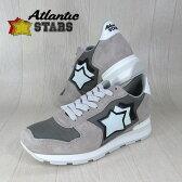 AtlanticSTARS アトランティックスターズ メンズ スニーカー イタリア シューズ 靴 ANTARES ST-86B/グレー サイズ:41/42/43/44