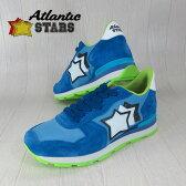 AtlanticSTARS アトランティックスターズ メンズ スニーカー イタリア シューズ 靴 ANTARES AA-87C/ブルー サイズ:41/42/43/44