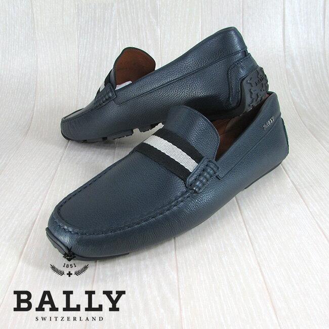 BALLY バリー メンズ ローファー レザーローファー 靴 シューズ PEARCE/306/ネイビー サイズ:6/7/8/9