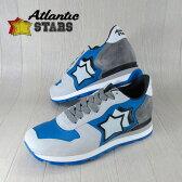 AtlanticSTARS アトランティックスターズ メンズ スニーカー イタリア シューズ 靴 ANTARES BAA 76N/グレー/ブルー サイズ:41/42/43/44