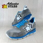 AtlanticSTARS アトランティックスターズ メンズ スニーカー イタリア シューズ 靴 ANTARES CSC 83A/グレー サイズ:41/42/43/44
