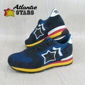 AtlanticSTARS アトランティックスターズ メンズ スニーカー イタリア シューズ 靴 ANTARES AAB 89B/ネイビー サイズ:40〜45