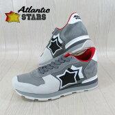 AtlanticSTARS アトランティックスターズ メンズ スニーカー イタリア シューズ 靴 ANTARES OFCG 63B/ライトグレー サイズ:40〜45