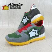 AtlanticSTARS アトランティックスターズ メンズ スニーカー イタリア シューズ 靴 ANTARES CPV 66B/グレー/グリーン サイズ:40〜45