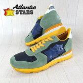 AtlanticSTARS アトランティックスターズ メンズ スニーカー イタリア シューズ 靴 ANTARES SV 66G/パープル/カーキ サイズ:39〜45