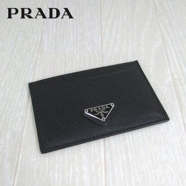 プラダ PRADA カードケース 名刺入れ カード収納 小物 ギフト 1MC208 QHH F0632/ブラック