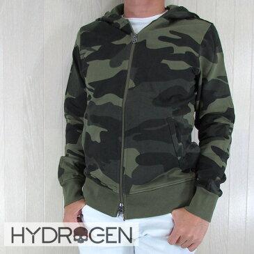 ハイドロゲン HYDROGEN パーカー ジップアップパーカー スウェット メンズ ブルゾン 214006 A60/カモフラ サイズ:S/M/L/XL