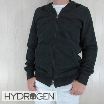 ハイドロゲン HYDROGEN パーカー ジップアップパーカー スウェット メンズ ブルゾン 214006 007/ブラック サイズ:S/M/L/XL