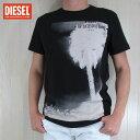 ディーゼル DIESEL メンズ トップス半袖 Tシャツ カットソー クルーネック SNT-PALMA/900/ブラック サイズ:M/L