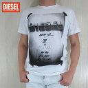 ディーゼル DIESEL メンズ トップス半袖 Tシャツ カットソー クルーネック T-DIEGO-HN/100/ホワイト サイズ:S〜XL