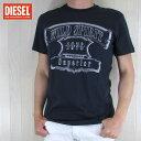 ディーゼル DIESEL メンズ トップス半袖 Tシャツ カットソー T-DIEGO-MC/81E/ネイビー サイズ:S〜XL