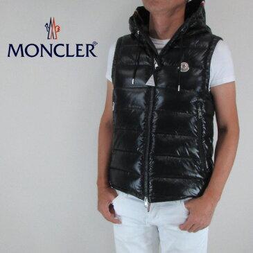 モンクレール MONCLER メンズダウンベスト ダウン ベスト 4333005 68950 / 999 / ブラック サイズ:1〜4